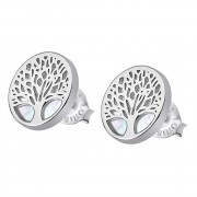 LOTUS Silver - Damen Ohrring Lebensbaum Ohrstecker aus 925 Silber JLP1678-4-1