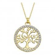 LOTUS Silver Halskette Lebensbaum SILBER LP1746-1/2 gold Zirkonia JLP1746-1-2