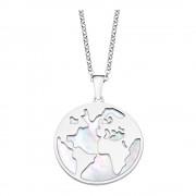 LOTUS Silver Halskette Erde 925er Sterling Silber LP1949-1/1 bunt JLP1949-1-1