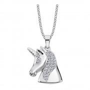 LOTUS Silver Halskette Einhorn 925 Silber LP1965-1/1 weiß Zirkonia JLP1965-1-1