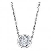 LOTUS Silver Halskette Rund 925 Silber LP2001-1/1 Swarovski Elements JLP2001-1-1