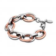 LS Armband stahlfarben-rosegold Lotus Style Edelstahl Schmuck JLS1616-2-3