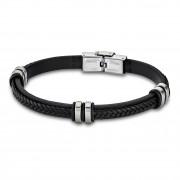 LOTUS Style Armband Damen Herren LS1829-2/1 Leder schwarz JLS1829-2-1