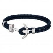 LOTUS Style Armband Herren Leder blau LS1832-2/4 Anker Schmuck JLS1832-2-4