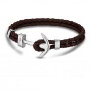 LOTUS Style Armband Herren Leder braun LS1832-2/5 Anker Schmuck JLS1832-2-5