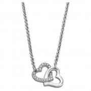 Lotus Style Halskette Edelstahl silber LS1912-1/1 Woman`s Heart JLS1912-1-1