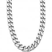 LOTUS Style Halskette LS1933-1/1 Herren Edelstahl silber Men Black JLS1933-1-1