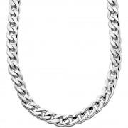 LOTUS Style Halskette LS1938-1/1 Herren Edelstahl silber Men Black JLS1938-1-1
