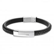 LOTUS Style Armband LS1965-2/1 Herren Leder schwarz Men Basic JLS1965-2-1