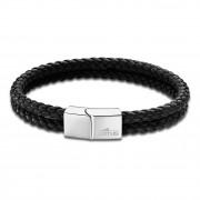 LOTUS Style Armband LS2011-2/1 Herren Leder schwarz Men Basic JLS2011-2-1
