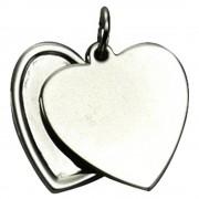 KISMA Schmuck Anhänger Herz für Ketten Sterling Silber 925 KIH0105-009