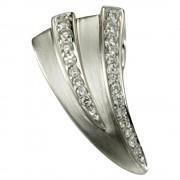 KISMA Schmuck Anhänger für Ketten weiß Sterling Silber 925 KIH0107-009