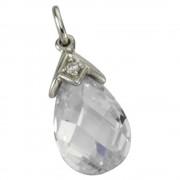 KISMA Schmuck Anhänger für Ketten weiß Sterling Silber 925 KIH0108-008
