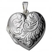 KISMA Schmuck Anhänger für Ketten Herz Sterling Silber 925 KIH0120-015
