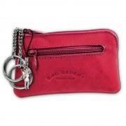 Schlüsseltasche pink Echtleder, glattes Leder Etui Bag Street OPJ900P
