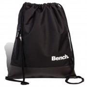 Bench Turnbeutel Sportrucksack Polyester schwarz Drawstring Bag unisex ORI307S