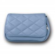 New Bags 2 in 1 gesteppte Gürteltasche Umhängetasche Kunstleder hellblau OTD5025 OTD5025H