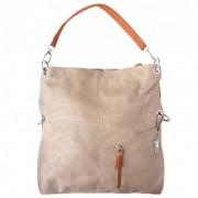 Hobo Bag Umhängetasche Leder braun Damen Schultertasche DrachenLeder OTF102C