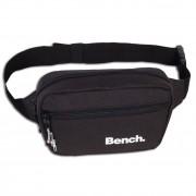 Bench sportliche Gürteltasche Polyester Bauchtasche schwarz Hüfttasche OTI300S