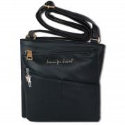 Umhängetasche Abendtasche schwarz Damen Schultertasche Jennifer Jones OTJ141S