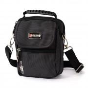 Bag Street Umhängetasche Polyester schwarz Crossover Schultertasche OTJ250S