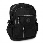Rucksack, Handtasche Nylon schwarz Damen Cityrucksack Bag Street OTJ604S