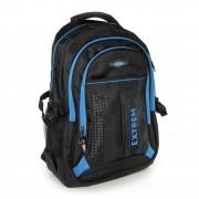 Rucksack Synthetik schwarz, blau Laptopfach Laptoprucksack Bag Street OTJ605B