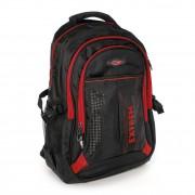 Rucksack Synthetik schwarz, rot Laptopfach Laptoprucksack Bag Street OTJ605R