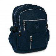Rucksack, Handtasche Nylon blau Damen Cityrucksack Bag Street OTJ604B