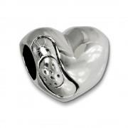 IMPPAC Bead Heilendes Herz 925er Silber Armband Beads SBB445