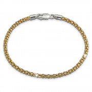 SilberDream Armband Himbeerkette vergoldet 925er Silber Damen 19cm SDA2269Y