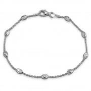 SilberDream Damen Armband Ankerkette 19cm Silber Trendschmuck SDA2389J