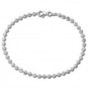 SilberDream Armband -Moon- 925 Silber poliert diamantiert ca. 19cm SDA3029J