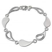 SilberDream Armband Träne 925 Sterling Silber Damen 18,5cm SDA415