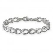 SilberDream Armband Herzform 925er Silber 19cm Silberarmband SDA446J