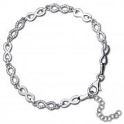 SilberDream Armband -Infinity- 925 Silber poliert Zirkonia ca. 21cm SDA4796W