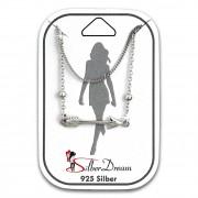 SilberDream Fußkette Pfeil 25cm 925 Sterling Silber SDF5185J