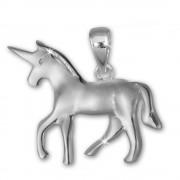 Teenie-Weenie Kettenanhänger Einhorn für Kinder 925er Silber SDH411J