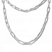 SilberDream Anker Kette Glieder 925 Sterling Silber Damen 75,5cm SDK11575J