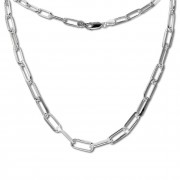 SilberDream Anker Kette Glieder 925 Sterling Silber Damen 45,8cm SDK11645J
