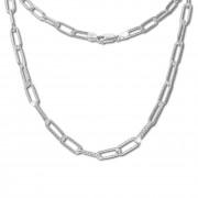 SilberDream Anker Kette Glieder 925 Sterling Silber Damen 46cm SDK11745J