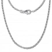 SilberDream Ankerkette 925er Silber Halskette 70cm Kette SDK20570