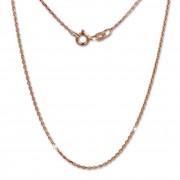 SilberDream Ankerkette rosevergoldet 925er Silber 70cm Damen Kette SDK27170E
