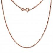 SilberDream Veneziakette rosevergoldet 925er Silber 70cm Damen Kette SDK27270E
