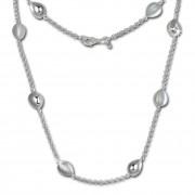 SilberDream Collier Tropfen 925 Sterling Silber 45,5cm Halskette SDK416