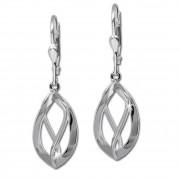 SilberDream Ohrringe Spirale klein 925 Silber Damen Ohrhänger SDO344