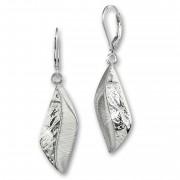 SilberDream Ohrhänger Rhombus 925 Sterling Silber Damen Ohrring SDO4341J