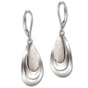 SilberDream Ohrhänger Tränen 925 Sterling Silber Damen Ohrring SDO4349J