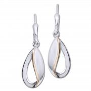 SilberDream Ohrhänger Träne 925er Silber Damen SDO4387T