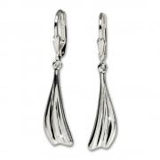 SilberDream Ohrhänger Fächer Ohrring 925 Sterling Silber SDO532